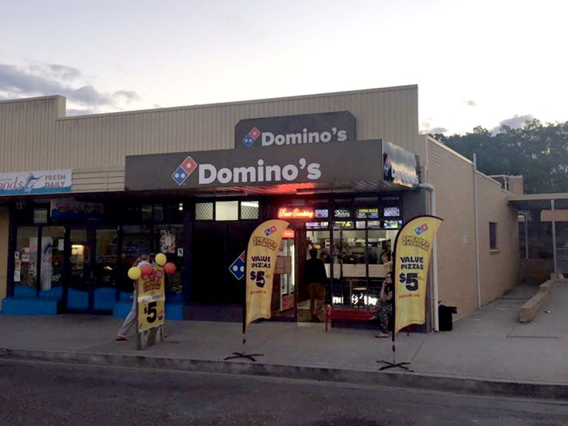 dominos wauchope
